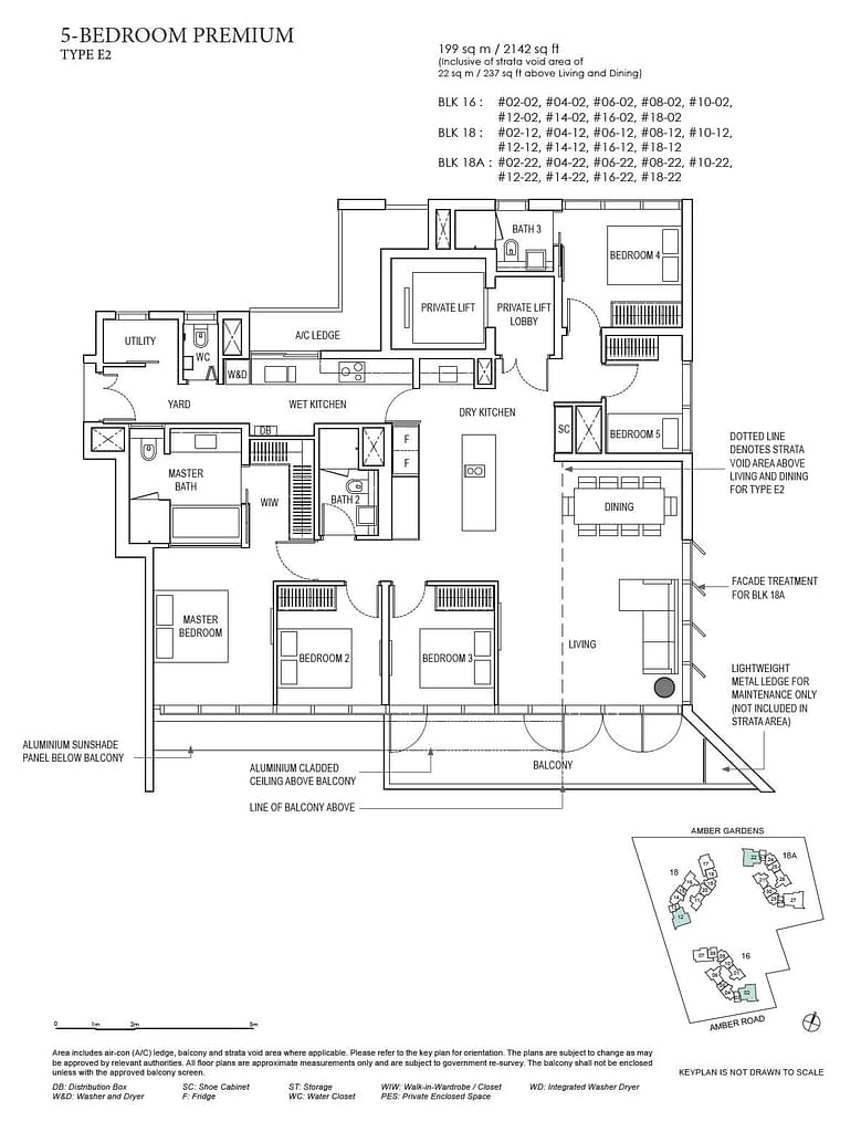 Amber Park Amber Park floorplan layout E2