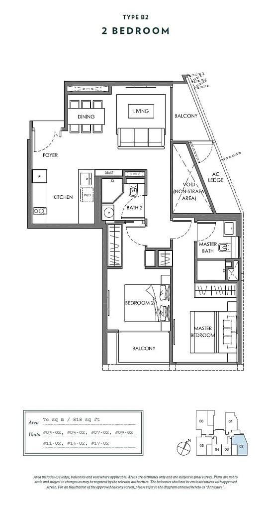Nyon Nyon floorplan type B2
