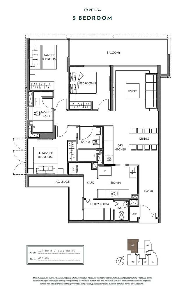 Nyon Nyon floorplan type C3a