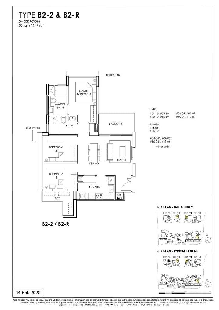 OLÁ OLA floorplan type B2 2