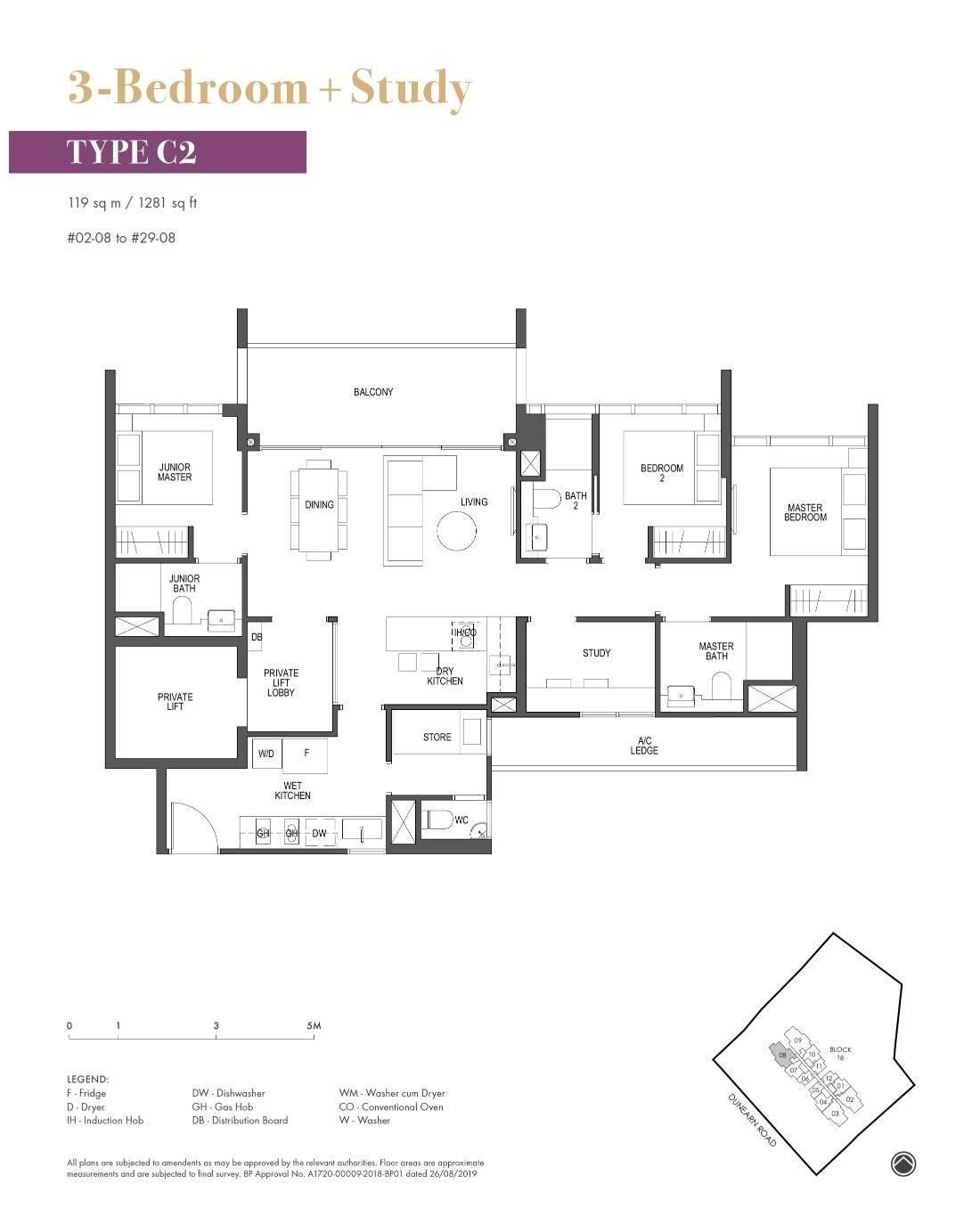 Pullman Residence Pullman Residence Floorplan C2