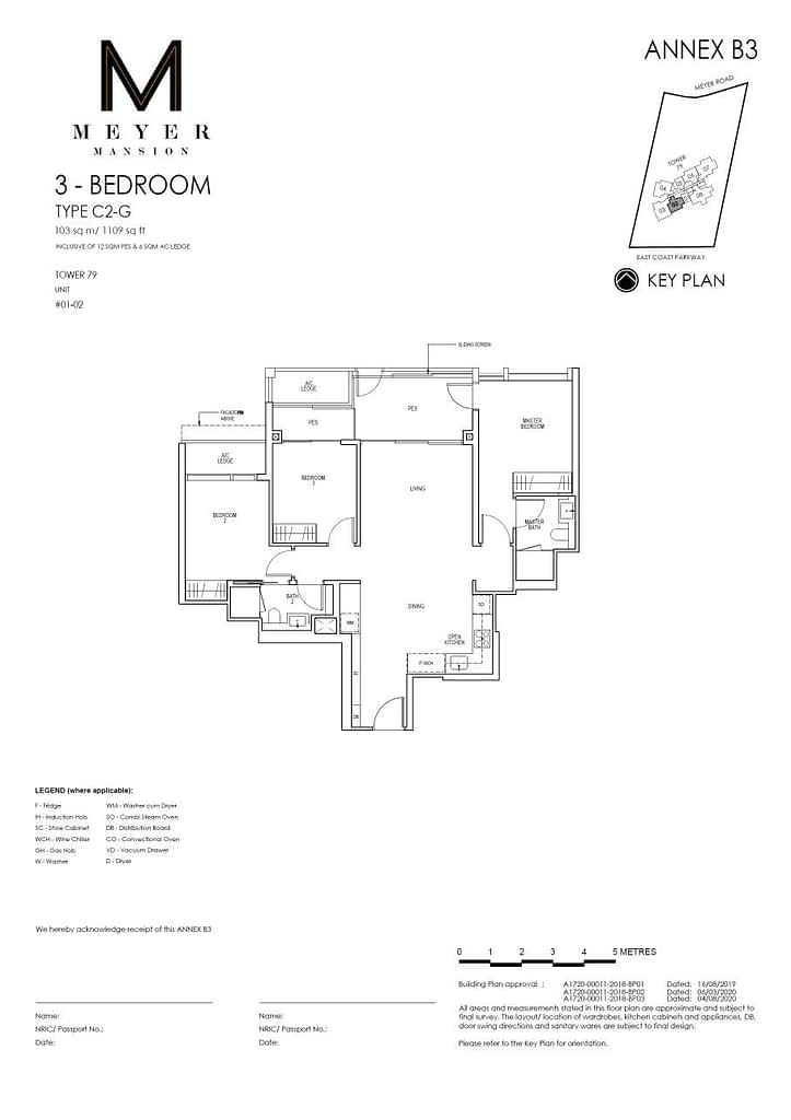 Meyer Mansion Meyer Mansion floorplan type C2 G