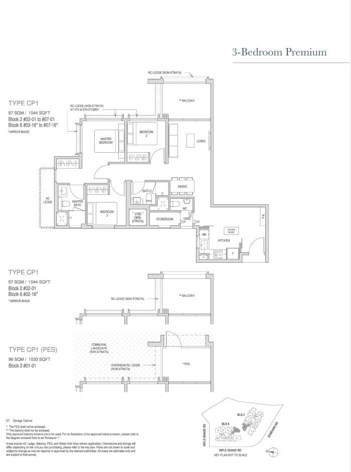 Mayfair Modern Mayfair Modern floorplan type CP1