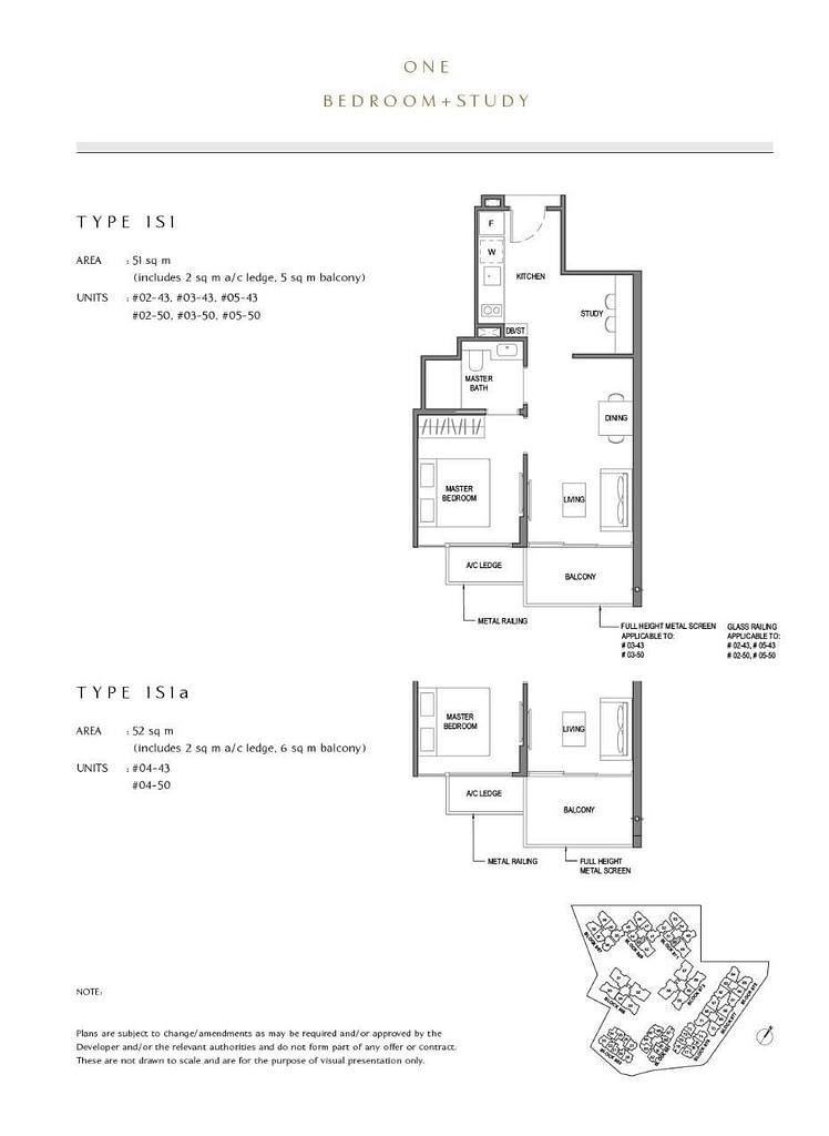 Parc Komo Parc Komo floorplan type 1S1a