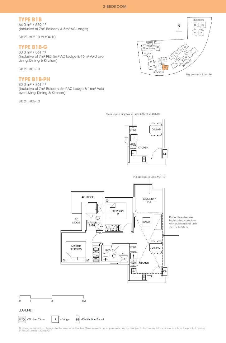 Antares Antares floorplan type B1B G