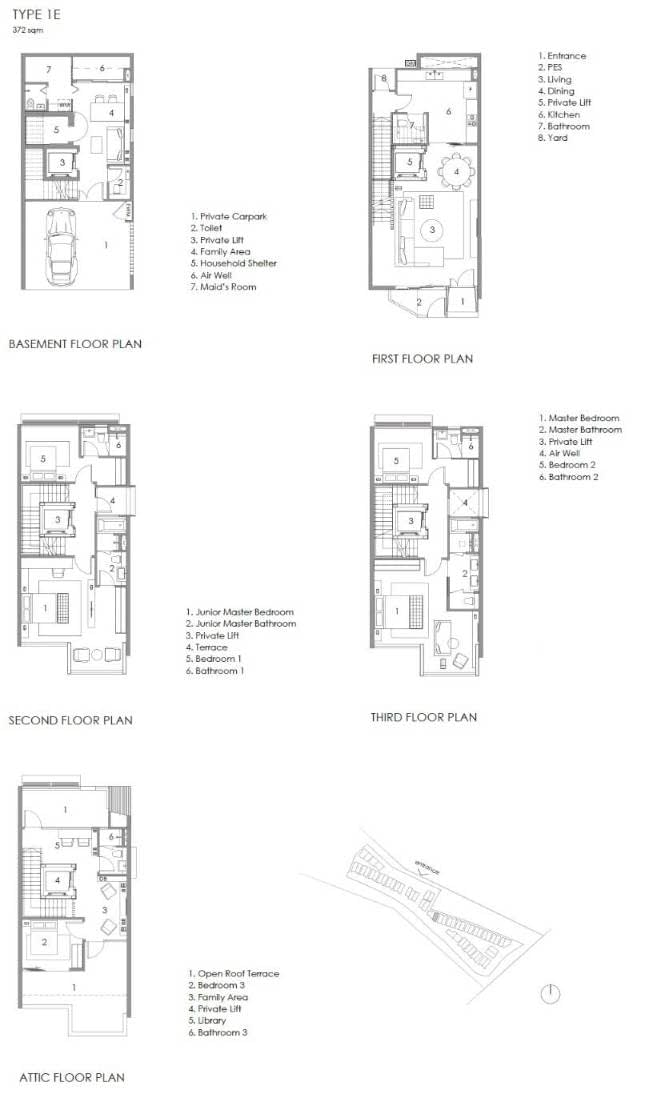 Parkwood Collection Parkwood Collection Floorplan 1E