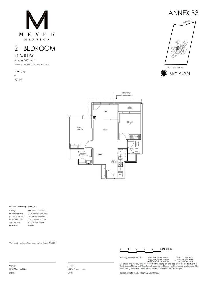Meyer Mansion Meyer Mansion floorplan type B1 G