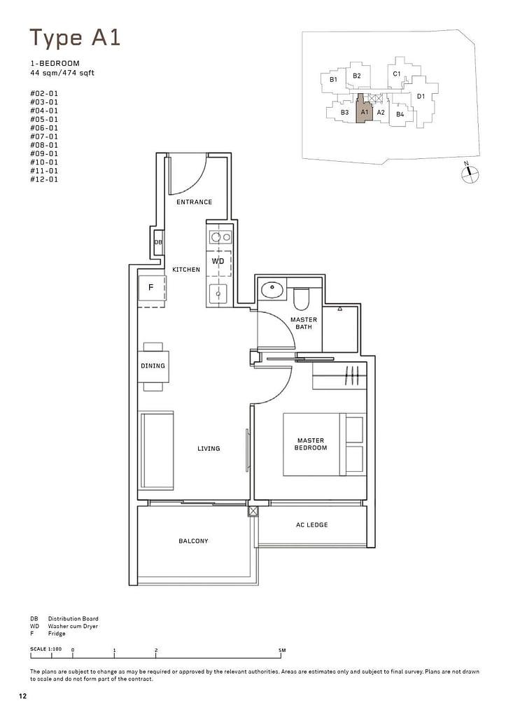 MYRA MYRA floorplan type A1