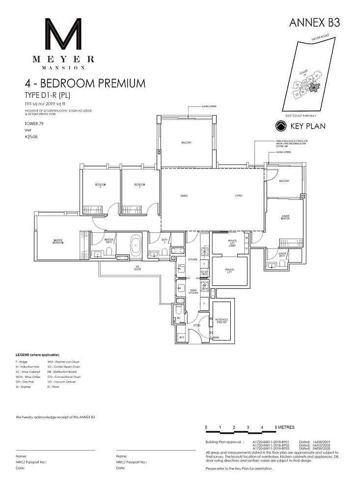 Meyer Mansion Meyer Mansion floorplan type D1 R PL