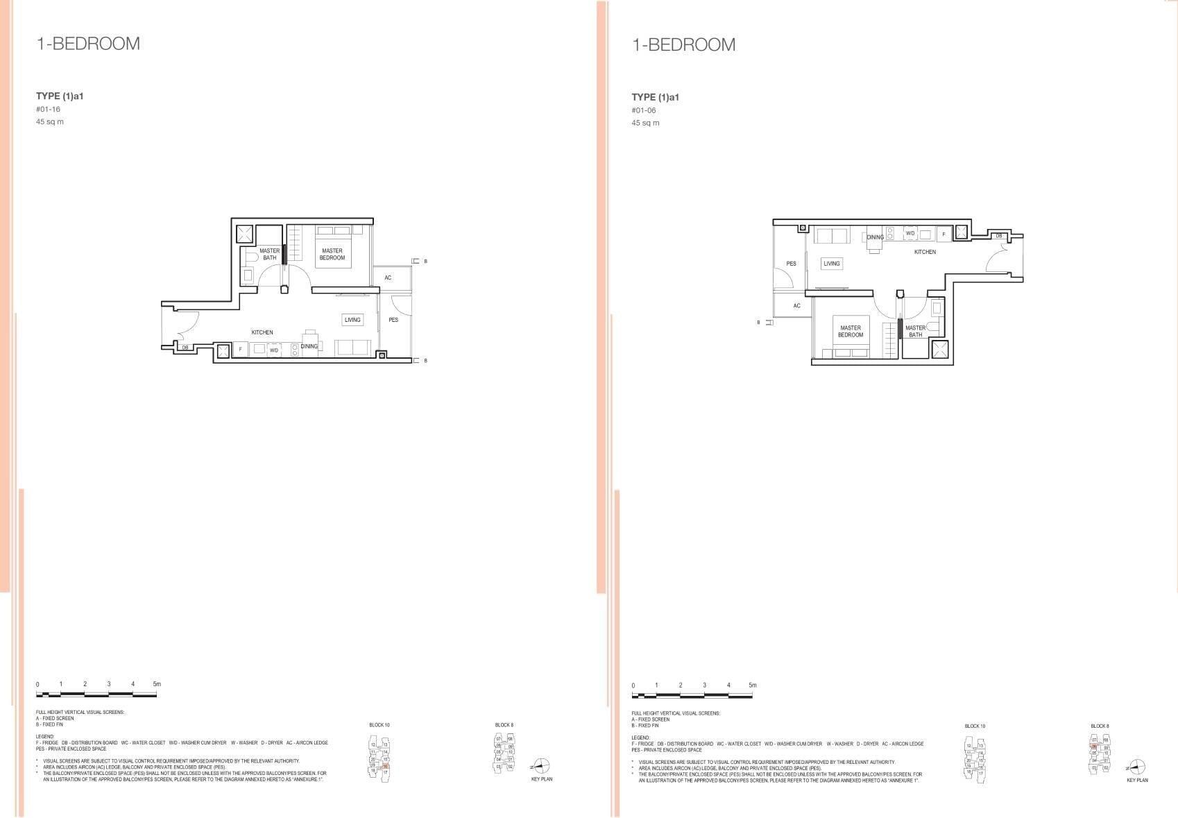 Midwood Midwood Floorplan 1a1