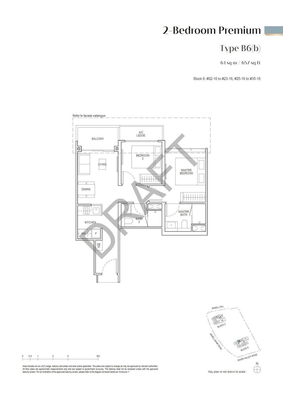 Irwell Hill Residences Irwell Hill Residences floorplan type B6b