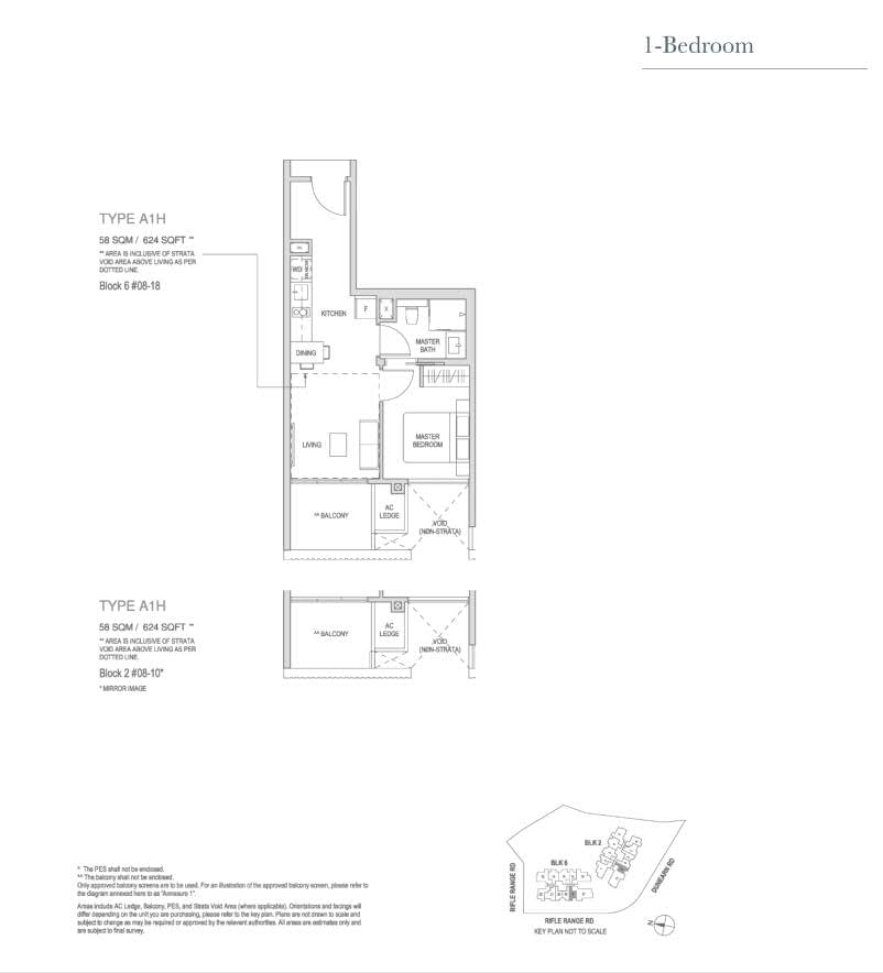 Mayfair Modern Mayfair Modern floorplan type A1H