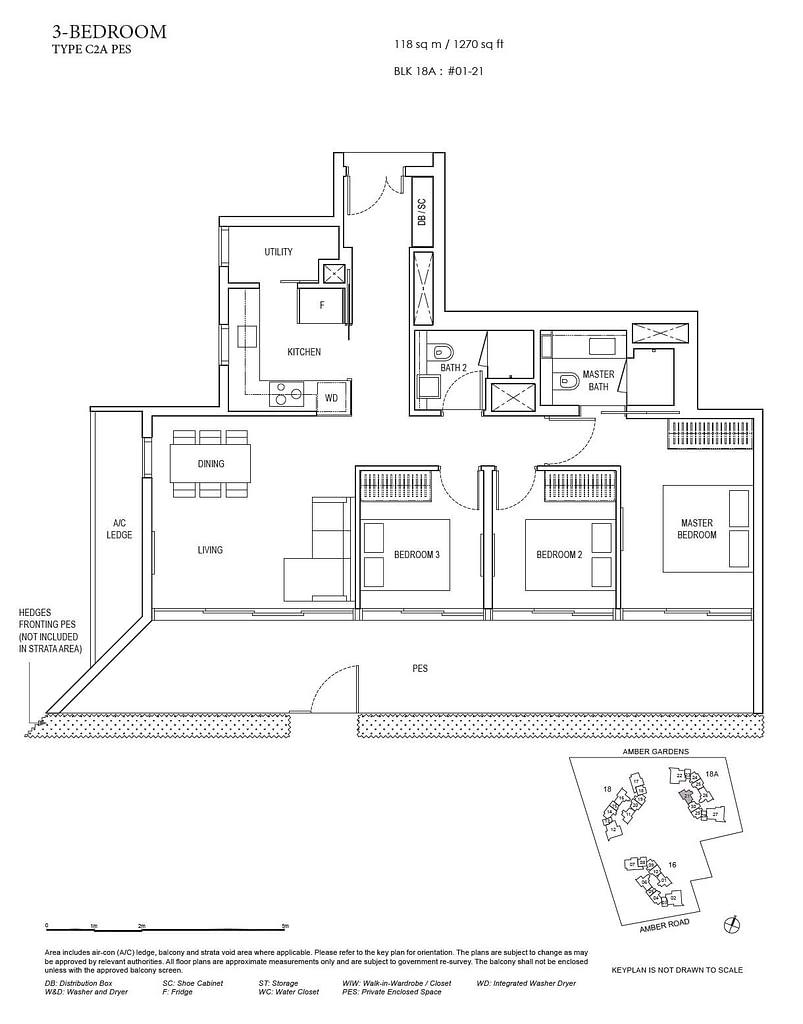 Amber Park Amber Park floorplan layout C2A PES