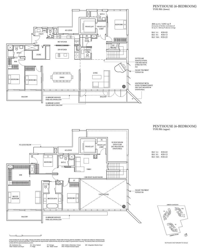 Amber Park Amber Park floorplan layout PH1