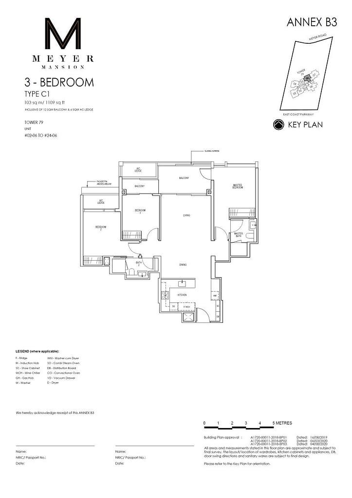 Meyer Mansion Meyer Mansion floorplan type C1