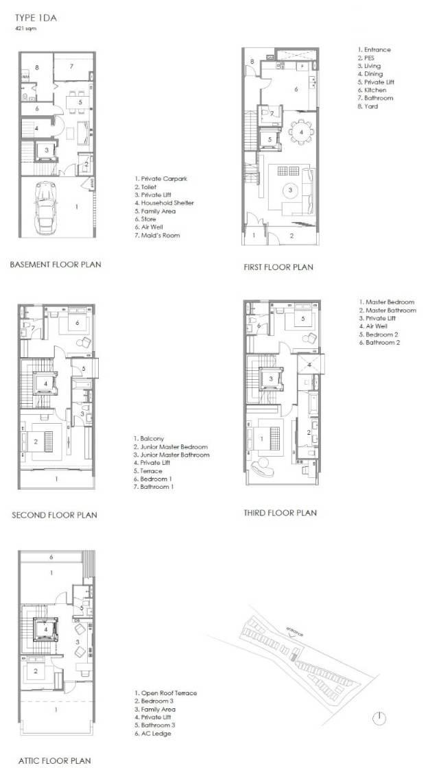 Parkwood Collection Parkwood Collection Floorplan 1Da