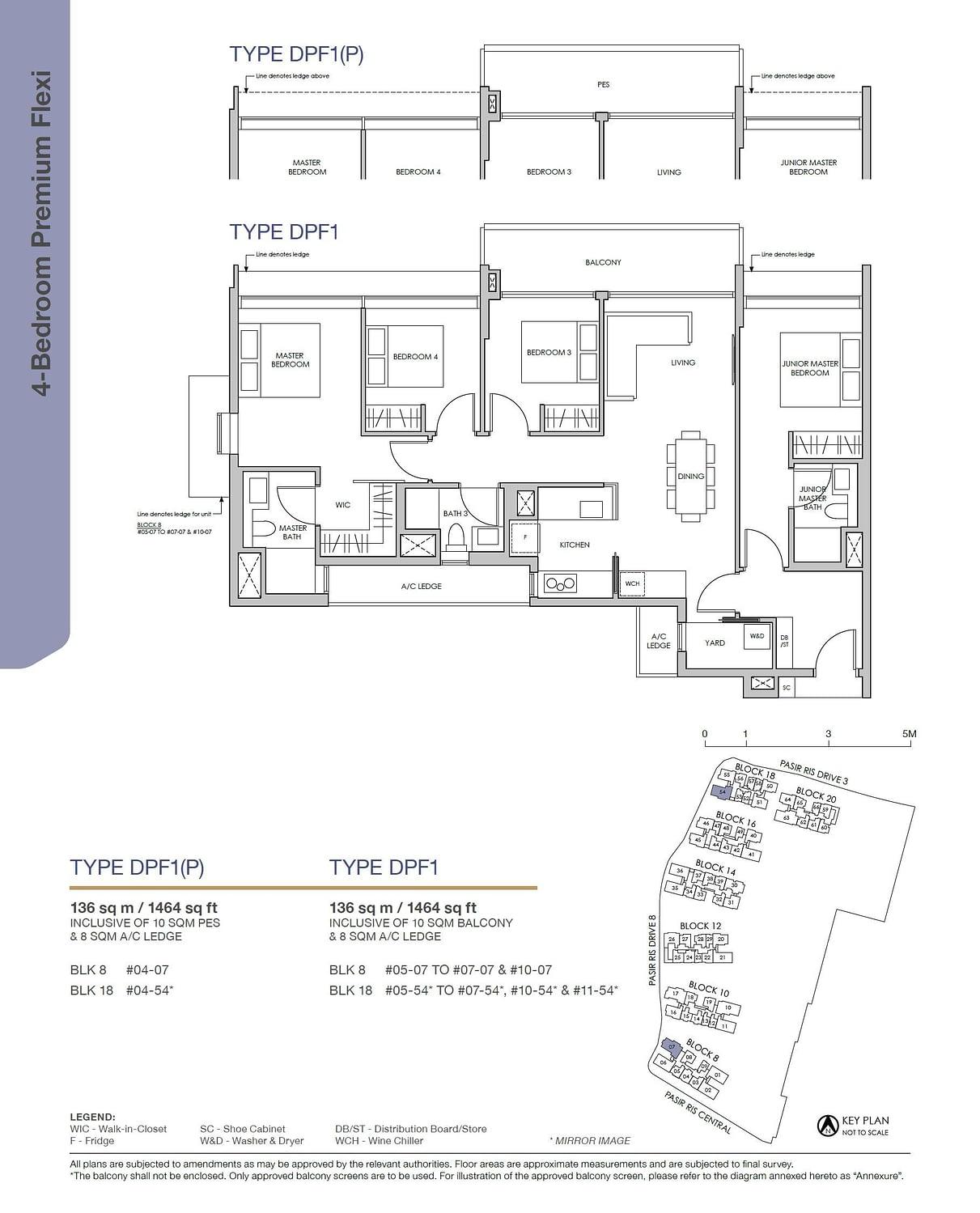 Pasir Ris 8 Pasir Ris 8 Floorplan DPF1
