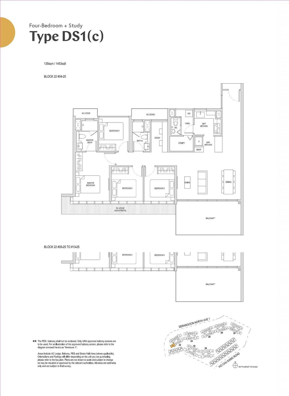 Affinity at Serangoon Affinity at Serangoon floorplan DS1c scaled