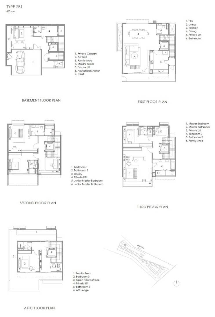 Parkwood Collection Parkwood Collection Floorplan 2B 1