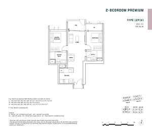 Penrose Penrose floorplan 2Pb1