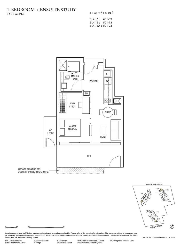 Amber Park Amber Park floorplan layout A3 PES