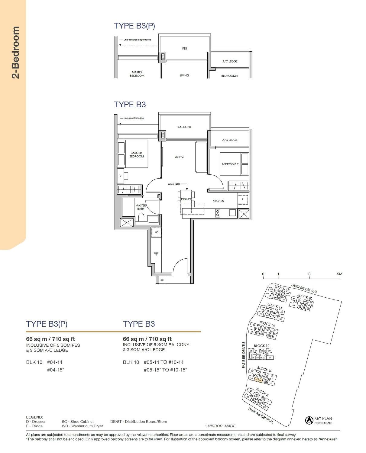 Pasir Ris 8 Pasir Ris 8 Floorplan B3P