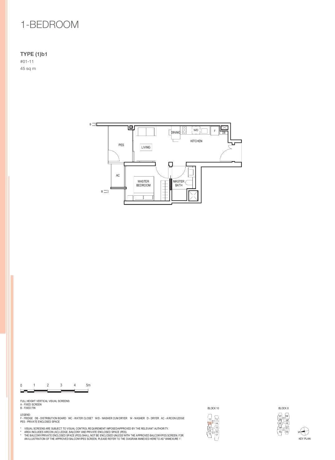 Midwood Midwood Floorplan 1b1