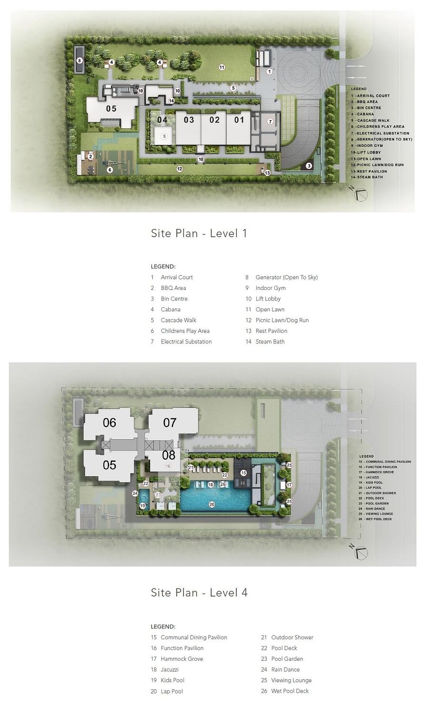 Sloane Residences Sloane Residences Siteplan