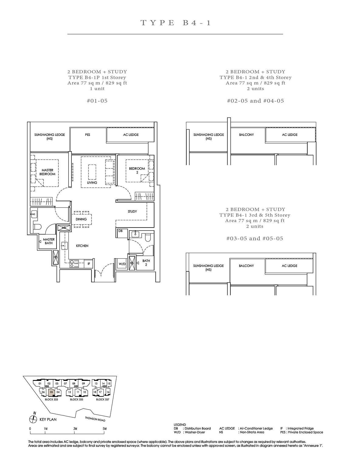 Peak Residence Peak Residence Floorplan B4 1P