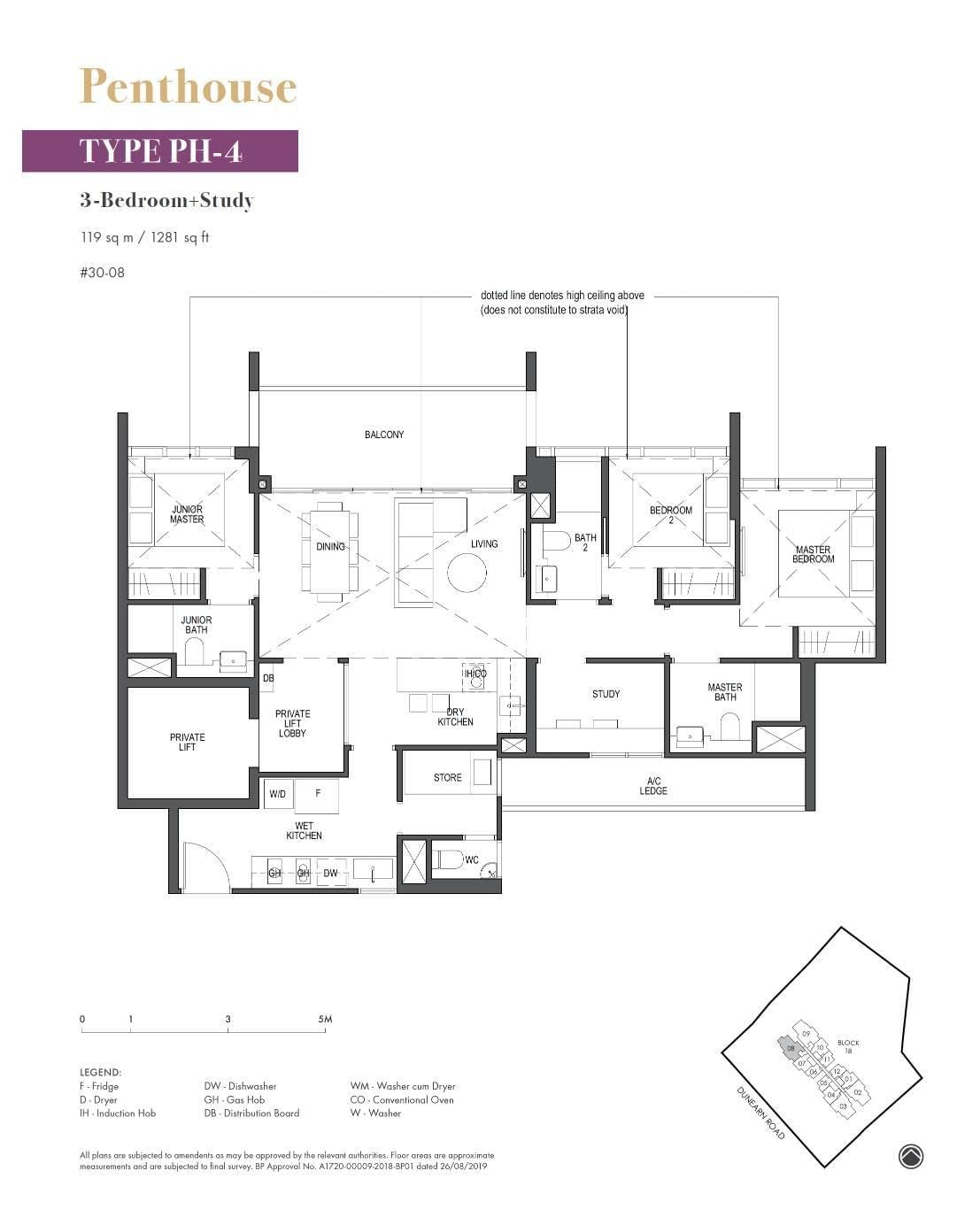Pullman Residence Pullman Residence Floorplan PH4