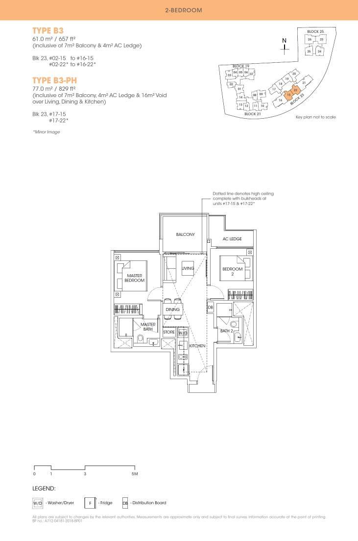 Antares Antares floorplan type B3