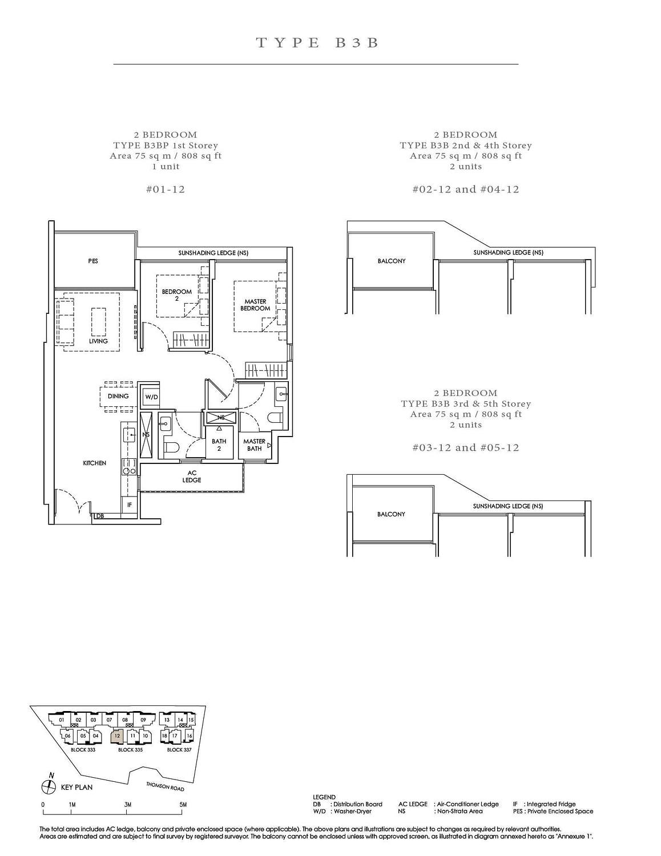 Peak Residence Peak Residence Floorplan B3B