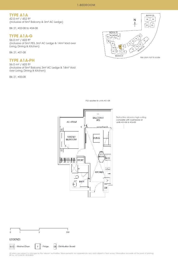 Antares Antares floorplan type A1A PH