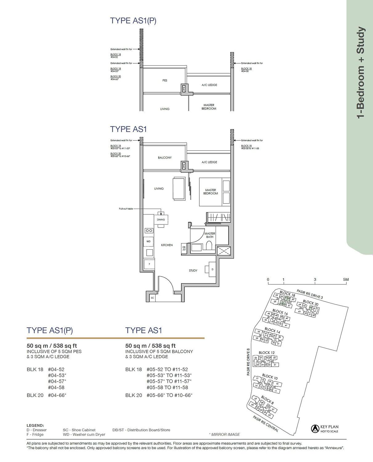 Pasir Ris 8 Pasir Ris 8 Floorplan AS1P