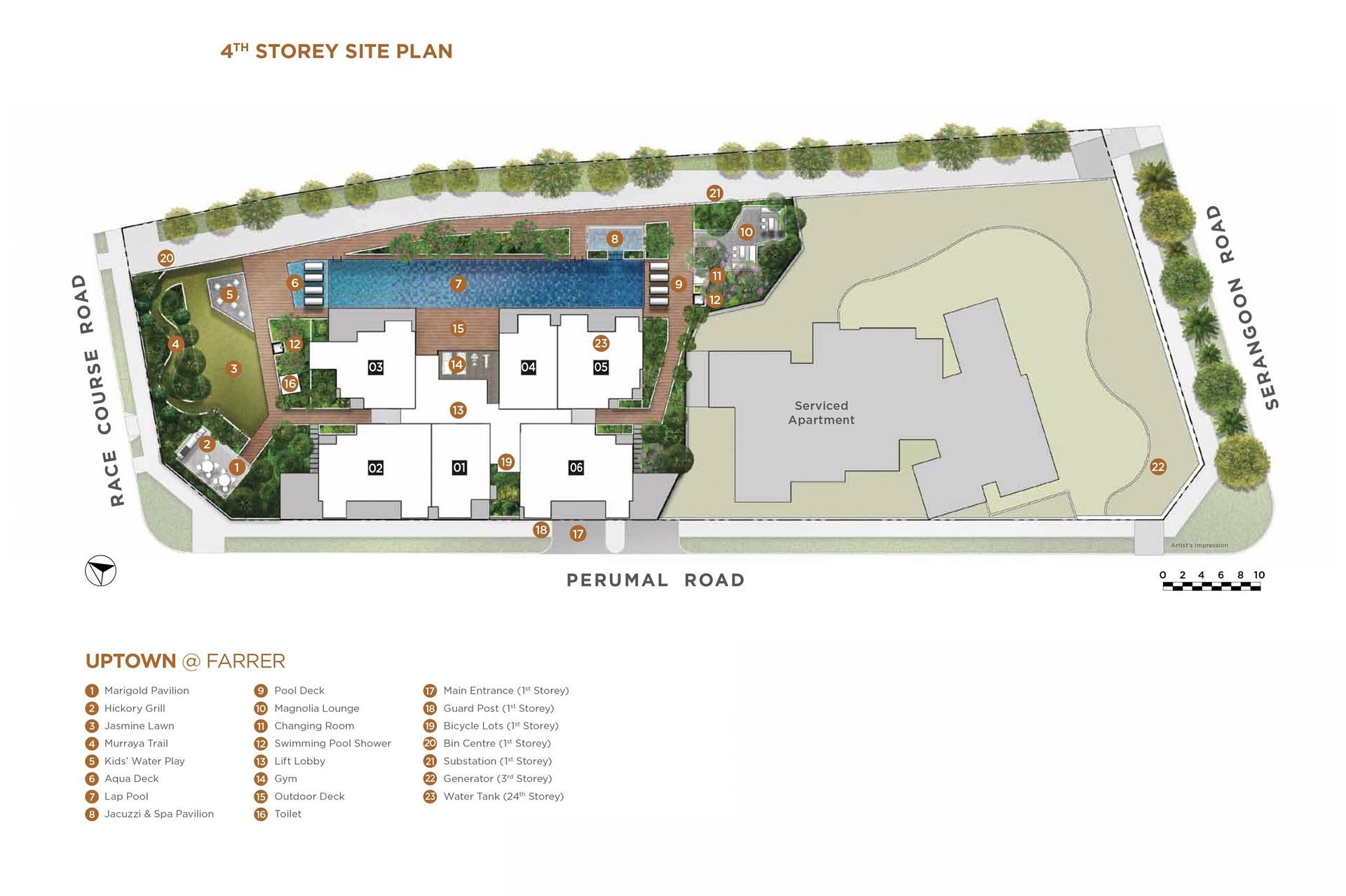 Uptown Farrer Uptown @ Farrer siteplan scaled