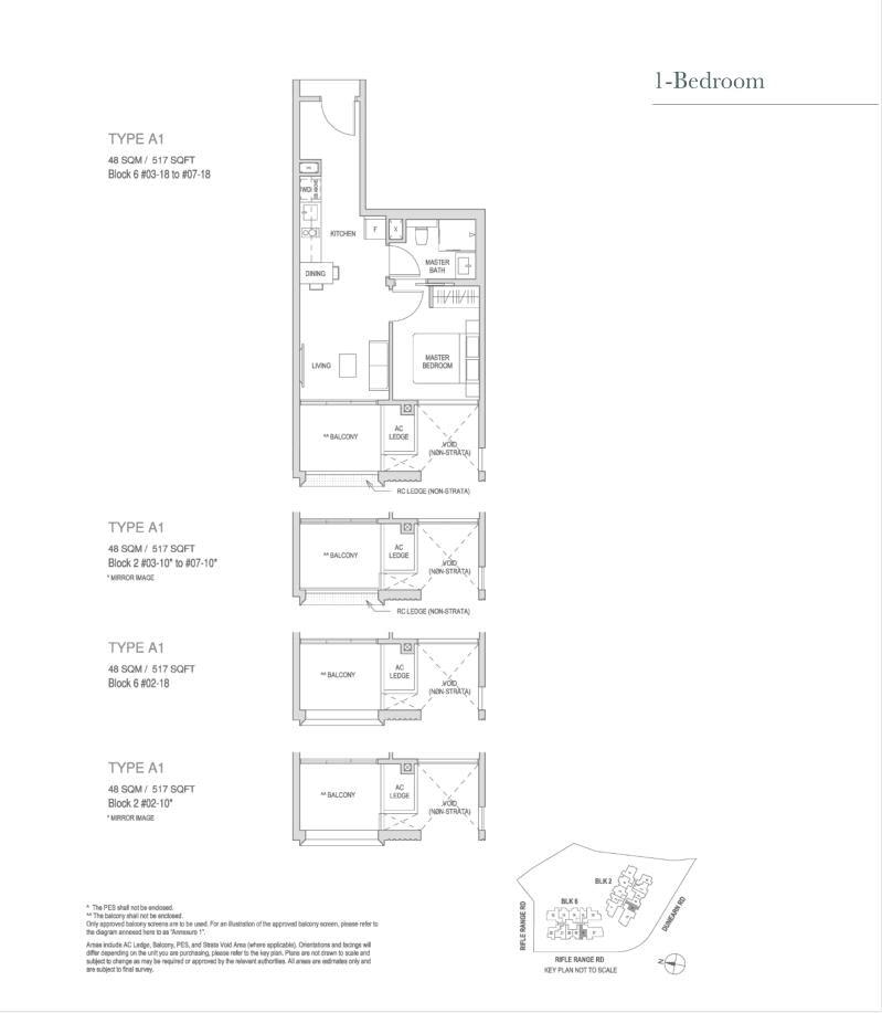 Mayfair Modern Mayfair Modern floorplan type A1