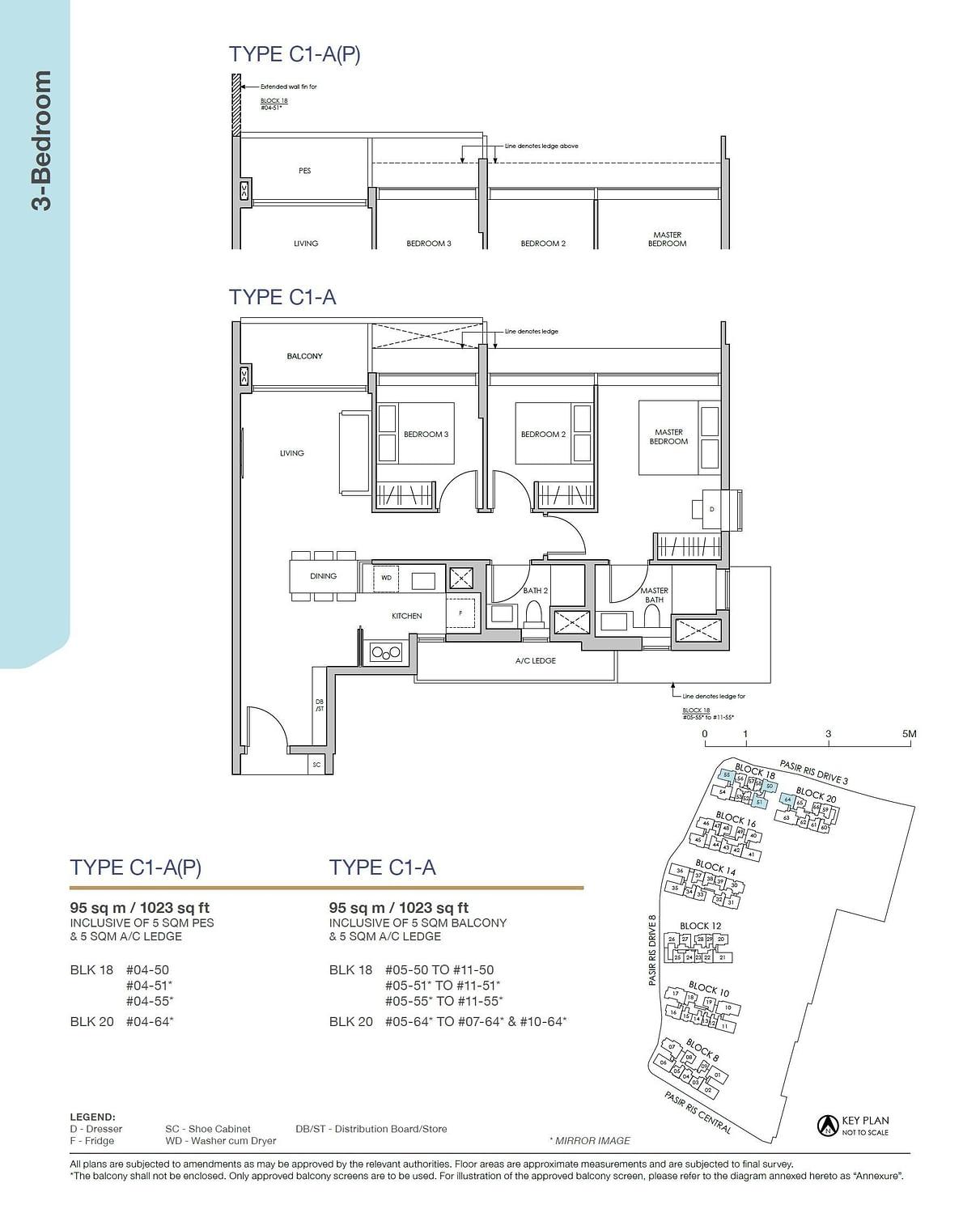 Pasir Ris 8 Pasir Ris 8 Floorplan C1 AP