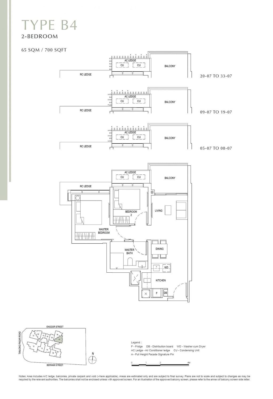 One Bernam One Bernam floorplan B4 scaled