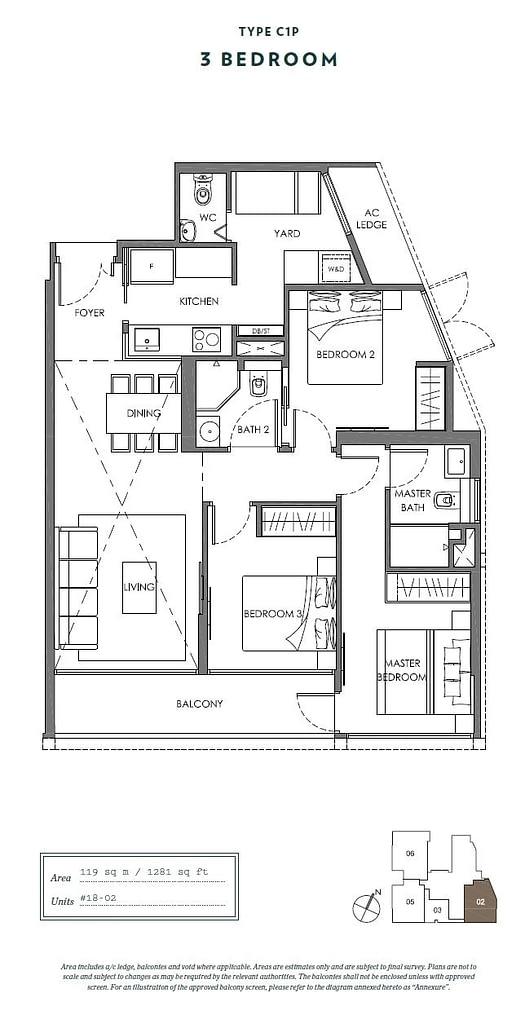 Nyon Nyon floorplan type C1P