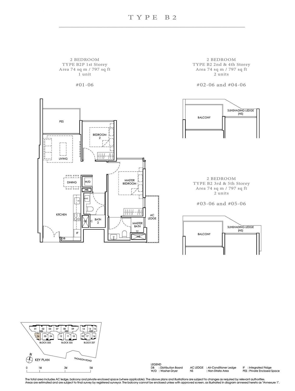 Peak Residence Peak Residence Floorplan B2P scaled