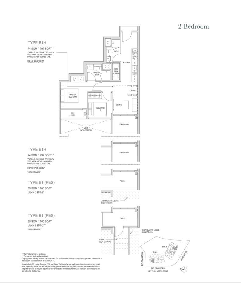 Mayfair Modern Mayfair Modern floorplan type B1H