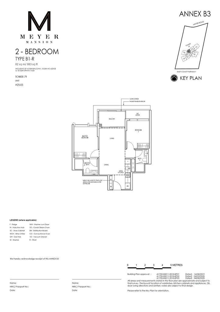 Meyer Mansion Meyer Mansion floorplan type B1 R