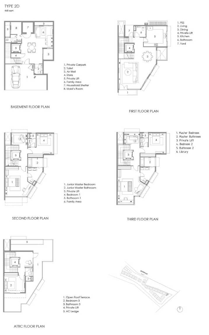 Parkwood Collection Parkwood Collection Floorplan 2D