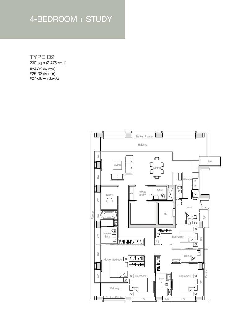 Nouvel 18 Nouvel 18 floorplan typeD2