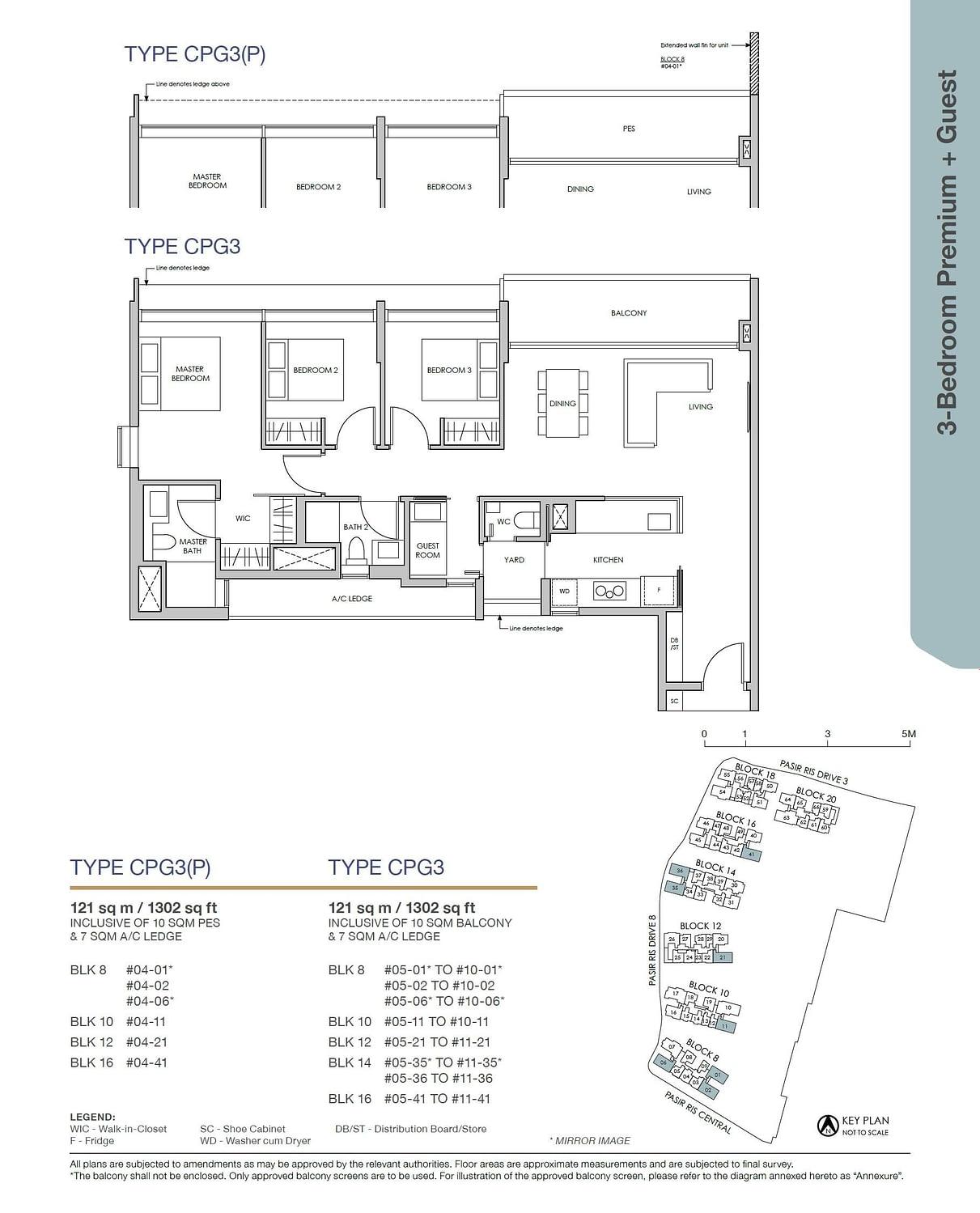 Pasir Ris 8 Pasir Ris 8 Floorplan CPG3P