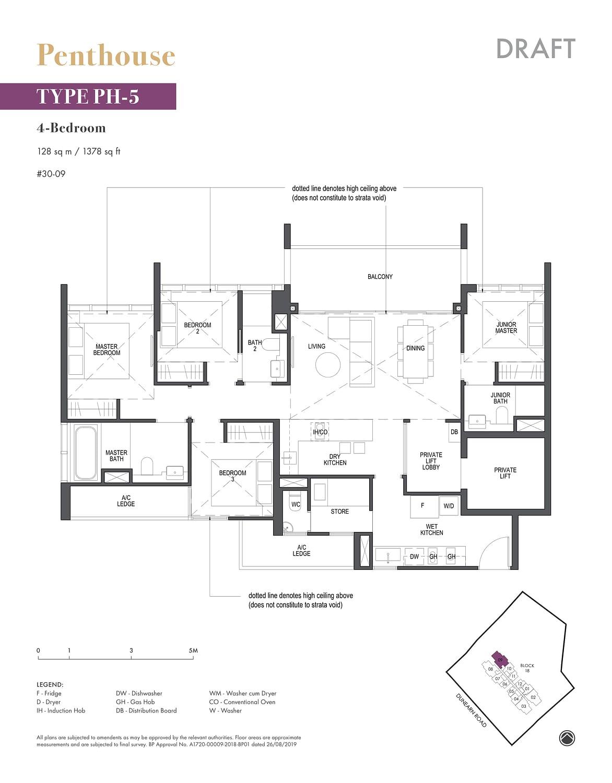 Pullman Residence Pullman Residence Floorplan PH5