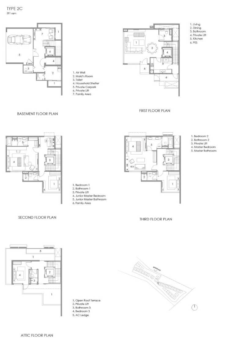 Parkwood Collection Parkwood Collection Floorplan 2C