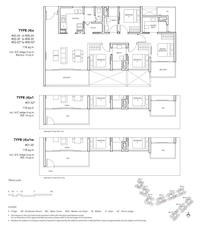 Jovell Jovell Floorplan 4a1w