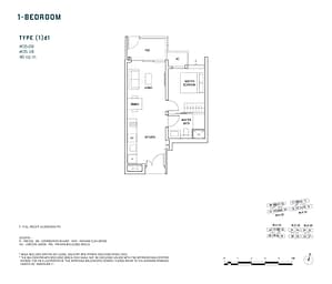 Penrose Penrose floorplan 1d1