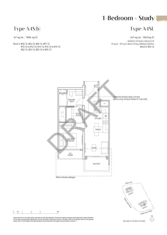 Irwell Hill Residences Irwell Hill Residences floorplan type A4SL